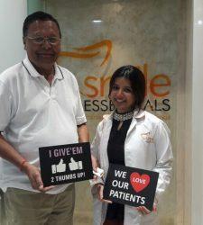 Happy Patient - Trinidad & Tobago